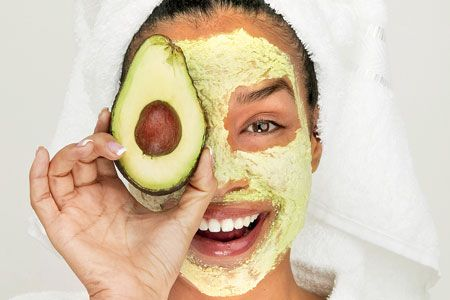 skin care with avocado